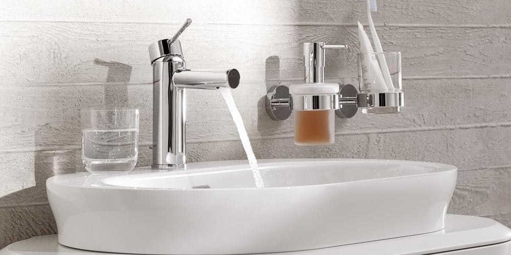 Grohe Essence Washbasin Taps Size S